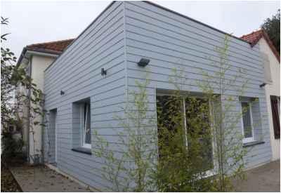 Extension d'une maison à Trois-Vesvres
