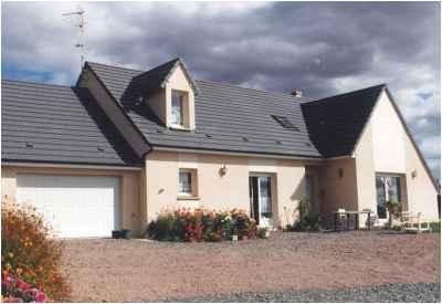 Construction d'une maison individuelle à St-Pierre-le-Moutier