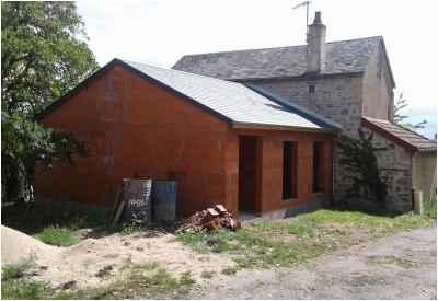 Extension d'une maison à Saint-Saulge - En cours