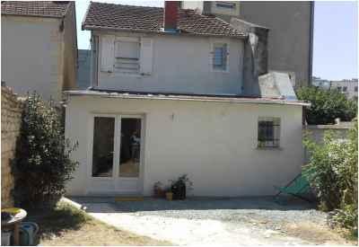 Après les travaux - Extension d'une maison à Nevers
